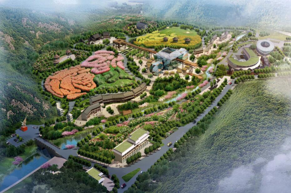 山西古县牡丹园二期修建性规划